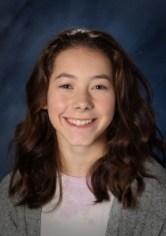 katie estep, cascade middle school, asb outstanding student