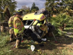 VRFA, APD, MVA, Fatality Accident, Auburn, Mini Cooper