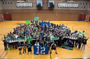 12th man, Rainier Middle School, Schaper, ASD