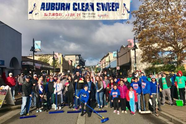 Clean Sweep, AuburnProud, Volunteer