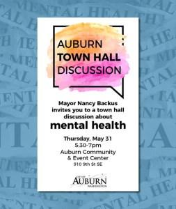 mental health, auburn, mental health town hall