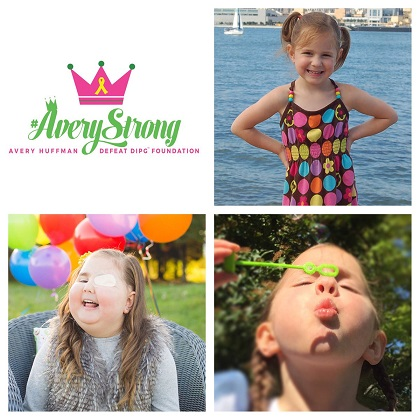 Avery Huffman, Avery Huffman Defeat DIPG Foundation, #Averystrong