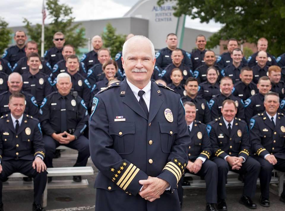 APD, Chief Lee, Bob Lee, Auburn WA, Auburn police dept