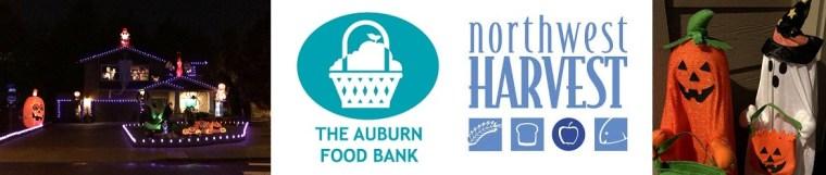 Annual Diego Moreno Food Drive, Officer Moreno, Diego Moreno, Randy Green, Halloween Food Drive, Lakeland Halloween, Auburn Food Bank, Northwest Harvest