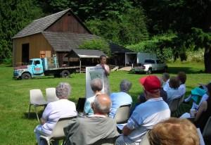 John Spellman Award, Mary Olsen Farm, Auburn, Historic Auburn