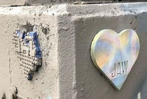 Jakobi ArtWorks, Auburn Hearts, Concrete Hearts, JAW, Hearts in Auburn, JAW Heart
