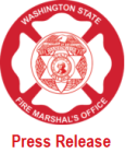 wa state fire marshal, fire marshal press release