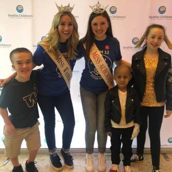 Miss Washington, Miss Auburn, Miss Auburn's Outstanding Teen, Austin Douglas, Seattle Cancer