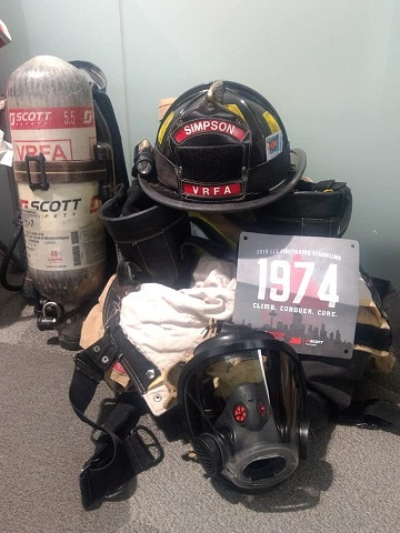 28TH Annual LLS Scott Firefighter Stairclimb, Colton Fogelberg, VRFA, Valley Professional Firefighters IAFF 1352, Firefighter stairclimb, columbia tower stairclimb, turnout gear, turn-out gear, ryan simpson, ryan simpson vrfa, ryan simpson stairclimb