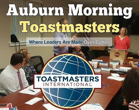 auburn morning toastmasters, toastmasters international