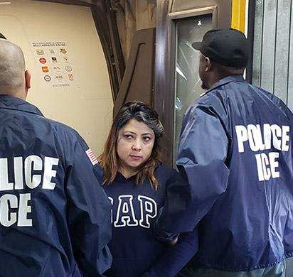 U.S. Immigration and Customs Enforcement, ICE, ICE Detainee, ICE Detainee Flight