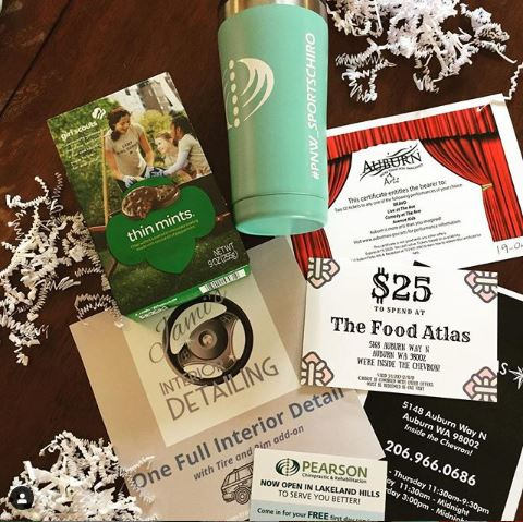 pearson chiropractic, city of auburn, thin mints, food atlas