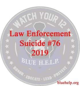 Bluenhelp, law enforcement suicides, 2p19 leo suicides
