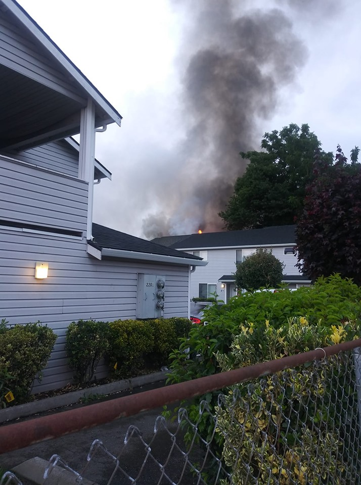 VRFA, auburn fire, auburn wa fire, auburn arson, homeless woman sets fire to garage, apartment fire auburn, city of auburn fire, fire in auburn today, i st ne fire, melissa marshall fire