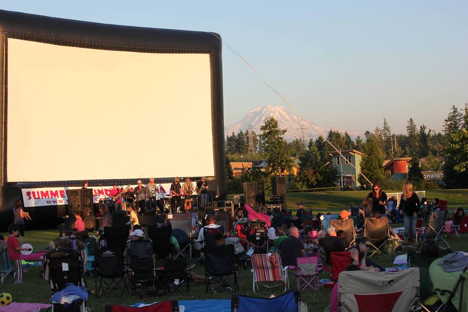 city of auburn, summer sounds & cinema, auburn parks, les gove