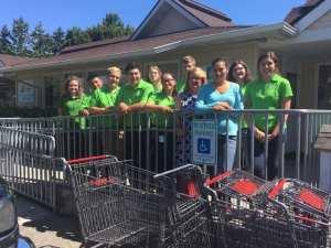 auburn food bank, waste management, waste management recycling corps, waste management recycling corps interns