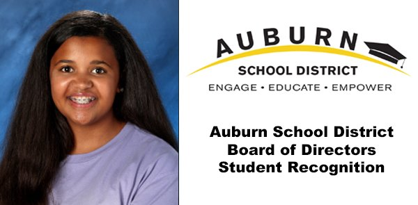 ASD, Outstanding student of the month, asd outstanding student, auburn school board outstanding student,