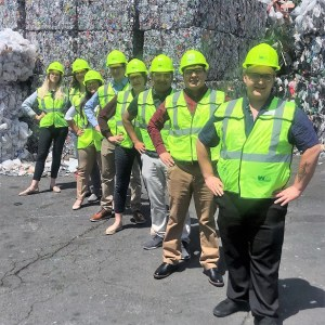WM Recycle Corps intern, colton Rasanen, waste management, waste management northwest, waste management auburn wa, think green auburn