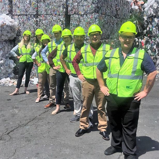 WM Recycle Corps intern, colton Rasanen, waste management, waste management northwest, waste management auburn wa, think green auburn