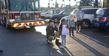 vrfa, apd, city of auburn, auburn wa, asd, washington elementary, walk to school, international walk to school day