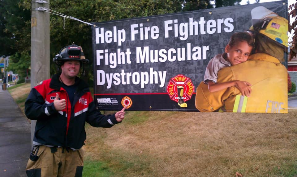 dean mcauley, vrfa, fill the boot, muscular dystrophy