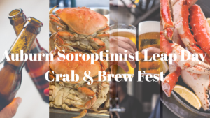 Soroptimist International of Auburn, crab and brew fest, community event, crab fest,