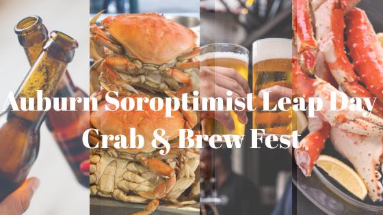 Soroptimist International of Auburn, crab and brew fest, community event, crab fest,