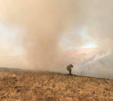 vrfa, valley regional fire authority, Colockum fire, vrfa Colockum ,