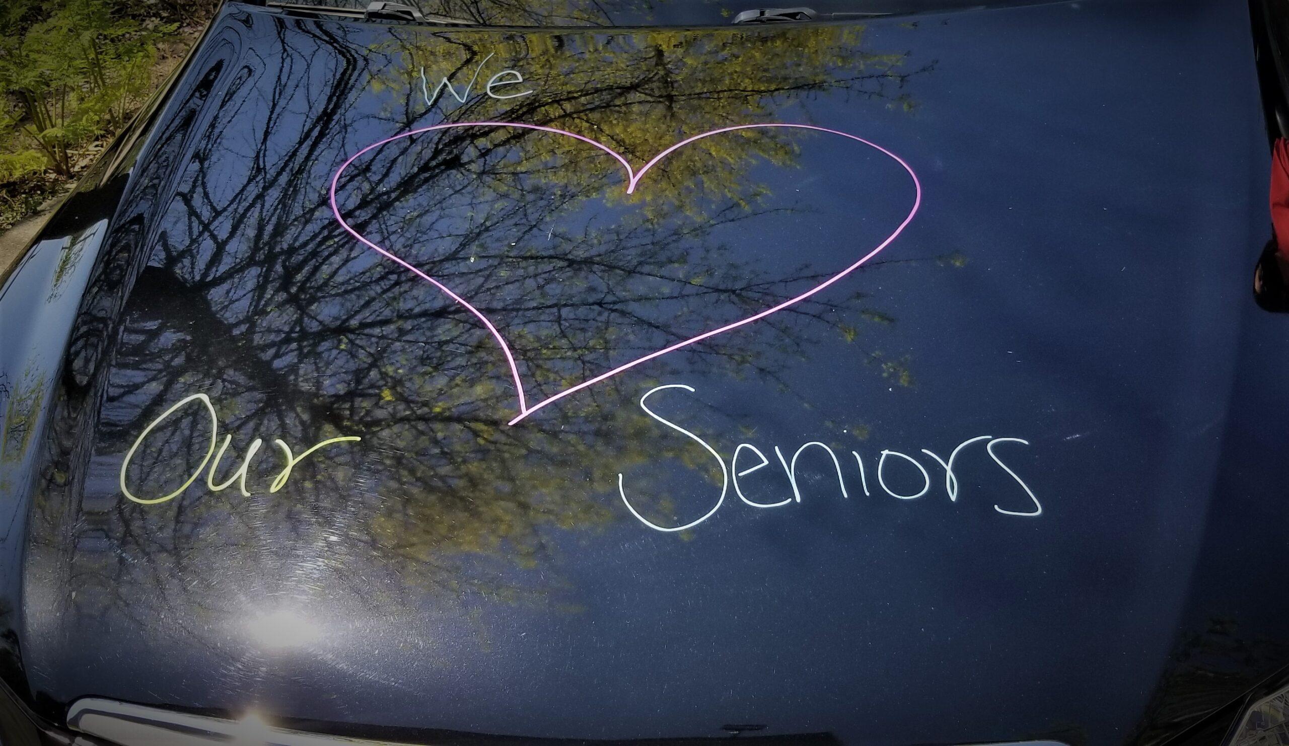 senior center parade, drive by parade, cr parade, auburn seniors, auburn wa senior parade,