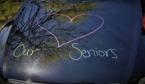 senior center parade, drive by parade, cr parade, auburn seniors, auburn wa senior parade,