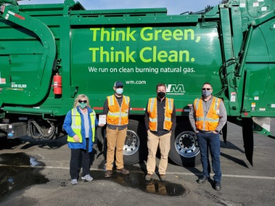 waste management, waste management award, auburn area chamber of commerce, spotlight award
