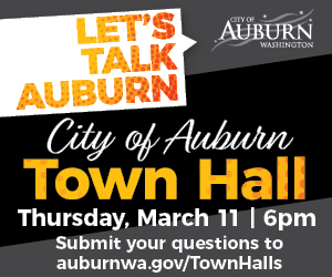 city of Auburn town hall ad