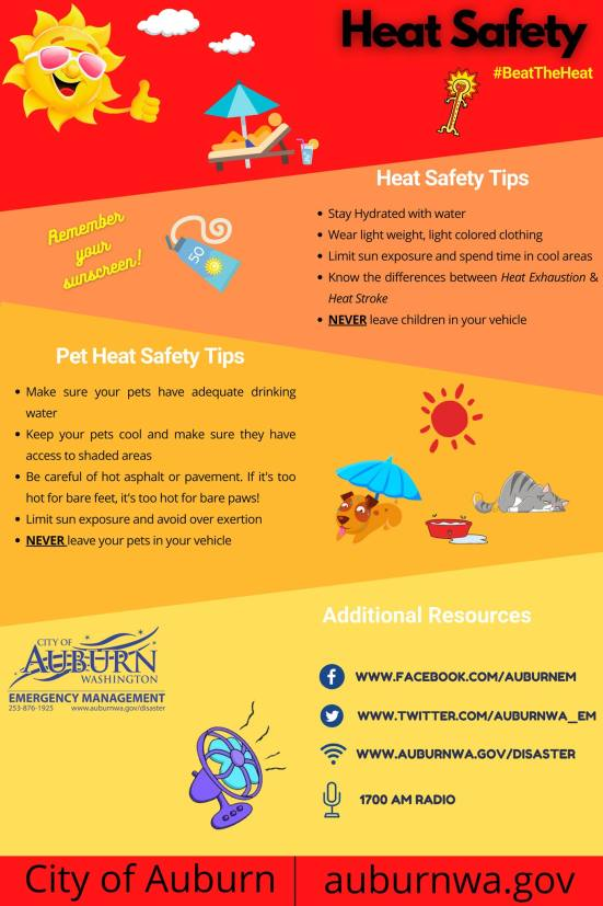 Beat the Heat tips graphic