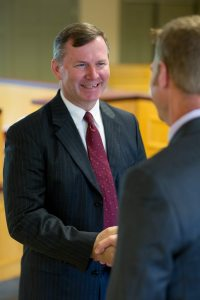 Auburn Savings Bank President Bill Tracy
