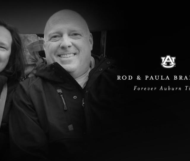 Voice Of Auburn Tigers Rod Bramblett And Wife Paula Pass Away