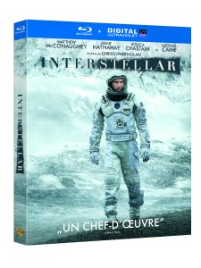 INTERSTELLAR - BD packshot 3D