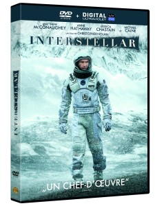 INTERSTELLAR - DVD packshot 3D