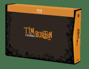 COFFRET TIM BURTON 17 FILMS BD