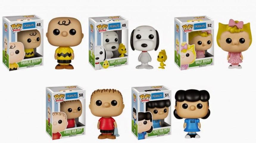EE Funko Peanuts POP!