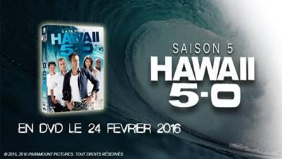 Hawai 5-0 DVD saison 5