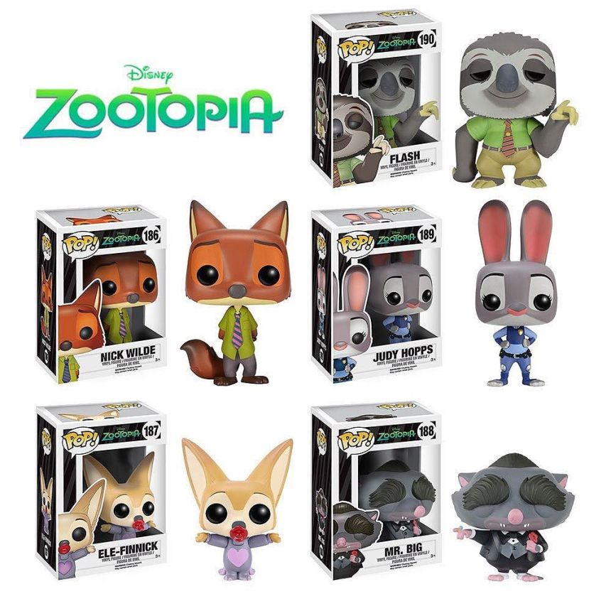 zootopie funko pop disney