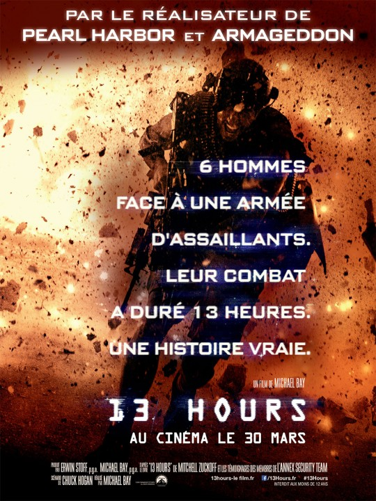 13 Hours affiche