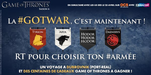 gotwar game of thrones 2016