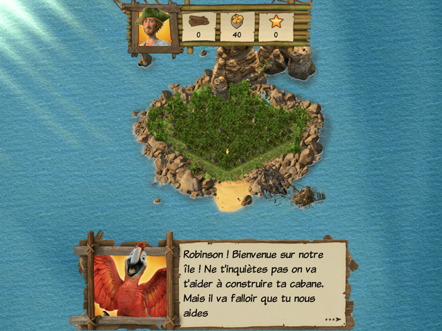 Robinson Crusoe jeu application Microids 1