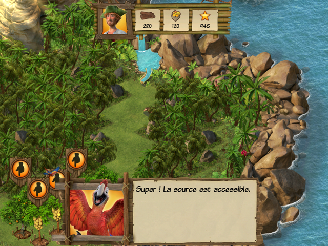 Robinson Crusoe jeu application Microids 4