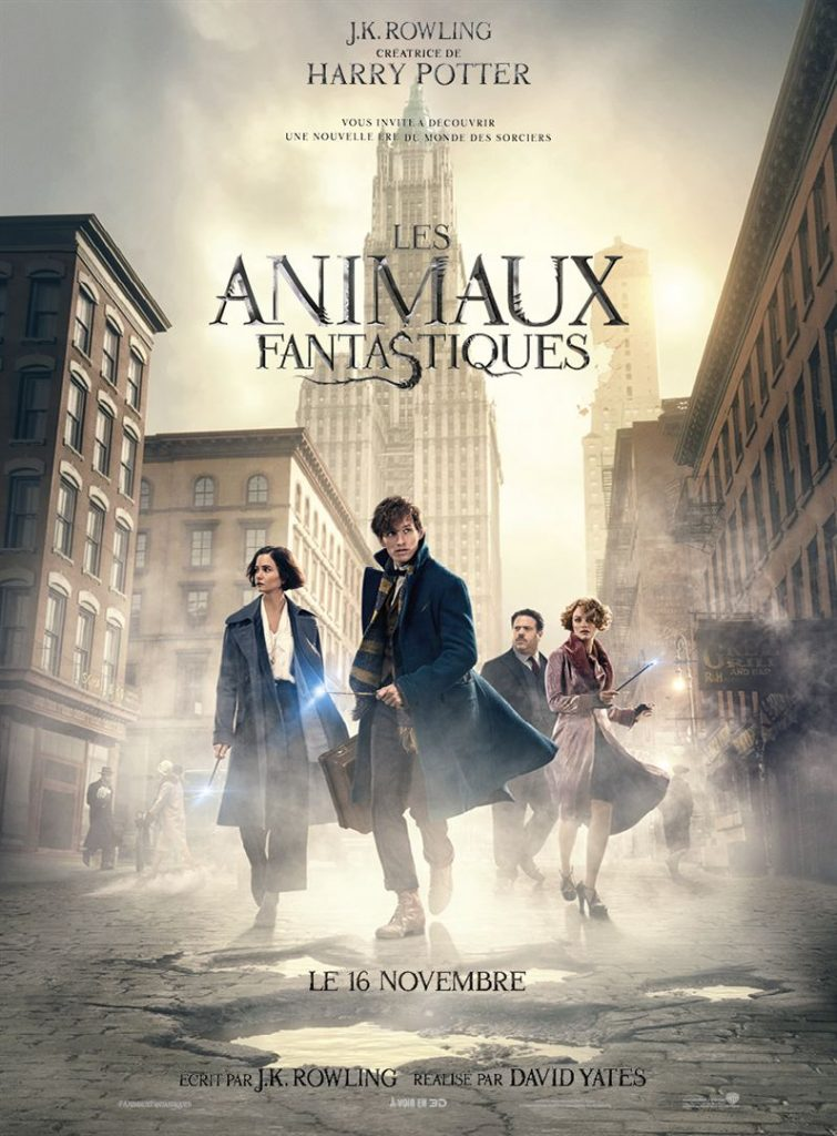 Date de sortie 16 novembre 2016 (2h 13min) De David Yates Avec Eddie Redmayne, Katherine Waterston, Dan Fogler plus Genres Fantastique, Aventure
