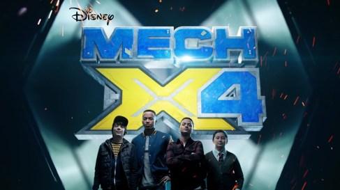 Mech X4 disney XD
