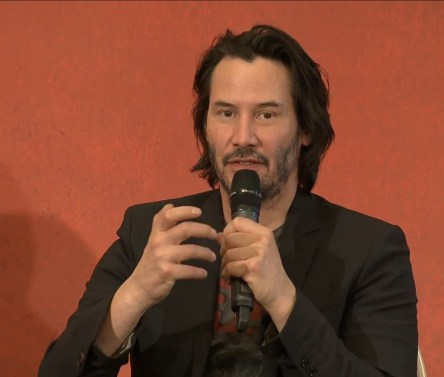 John Wick 2 press conference Keanu Reeves photo 16