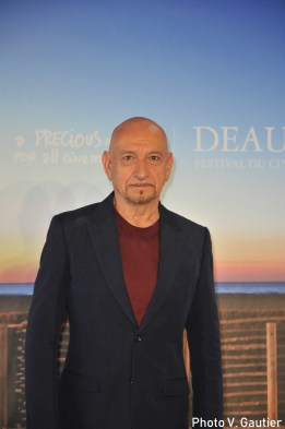 Sir ben Kingsley photocall deauville 2018