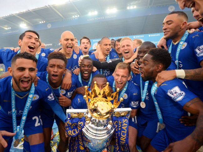 Leicester vainqueur de la premier league